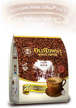 OldTown White Coffee™ 3in1 Natural Cane Sugar